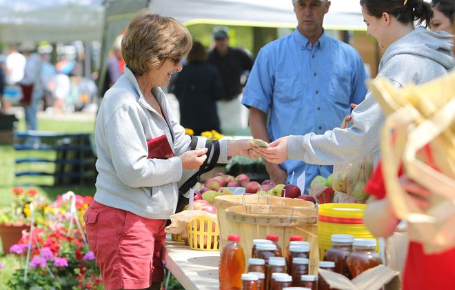 The Elmwood Village Farmers Market will look different this year. (Sharon Cantillon/News file photo)