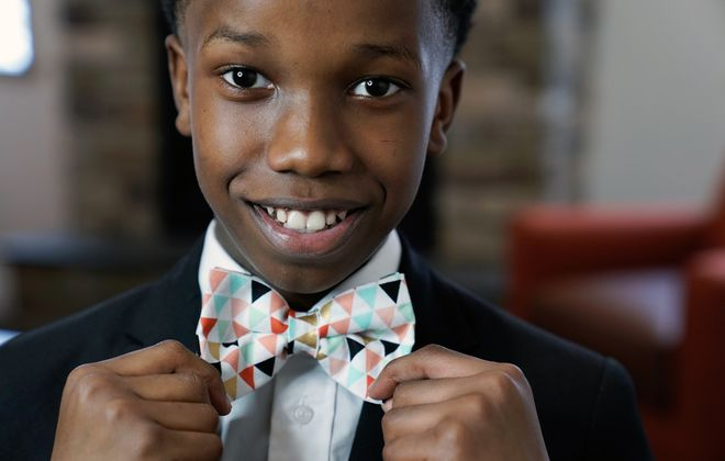 When sharp-dressed Sheldon Gibbs wasn't able to find bow tie designs he loved, he decided to make them himself — and a business was born. (Dave Jarosz)