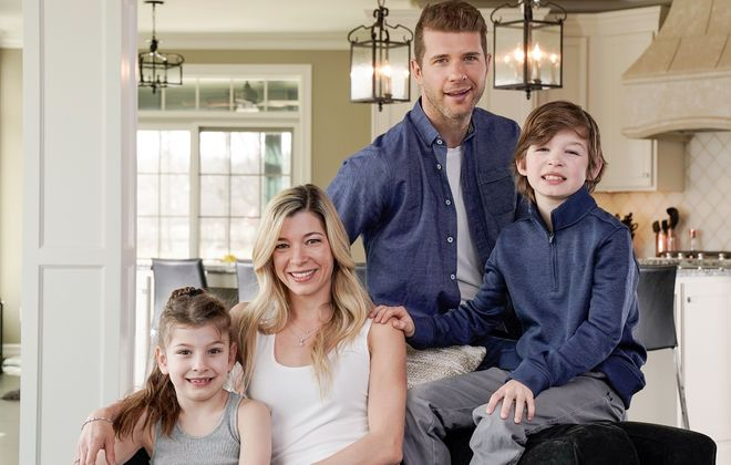 When he's away for long stretches of road games, Buffalo Sabre Jason Pominville says FaceTime helps him stay connected to his wife, Kim, and kids, Jayden and Kaylee. Kim will even FaceTime the kids' games and meets so Jason can watch with her in real time. (Dave Jarosz)