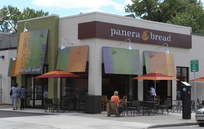 Panera Bread opened July, 24, 2013, on Elmwood Avenue. The national chain has now announced a delivery service. (Sharon Cantillon/Buffalo News)
