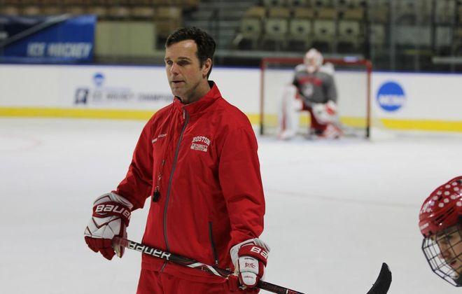 David Quinn led Boston University for the last five seasons (New York Rangers photo).