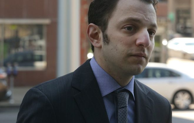 Todd Morgan enters the federal courthouse in Buffalo to be arraigned in May.   (John Hickey/News file photo)