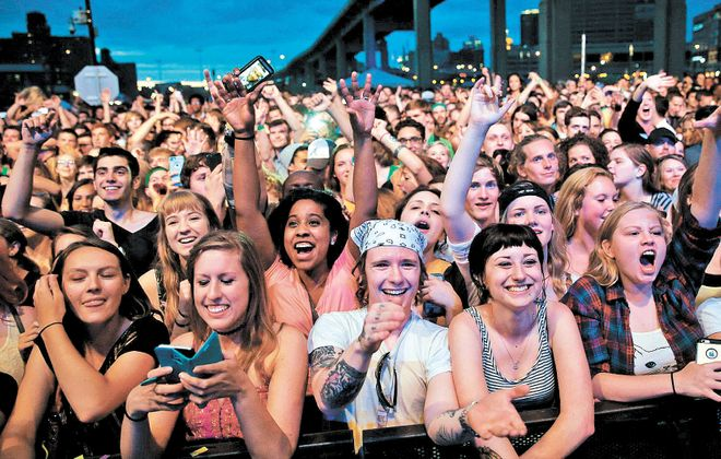 Take in one of the region's all-day music festivals this summer. (Sharon Cantillon)