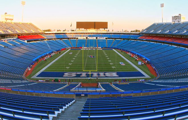 New Era Field had $130 million in renovations in 2014 as part of an agreement to extend the lease to 2023. (Harry Scull Jr./News file photo)