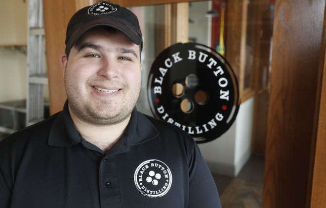 Black Button Distillery owner Jason Barrett won an SBA honor. (News file photo)