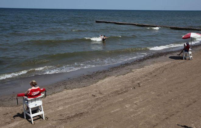 The beach at Krull Park.(News file photo)