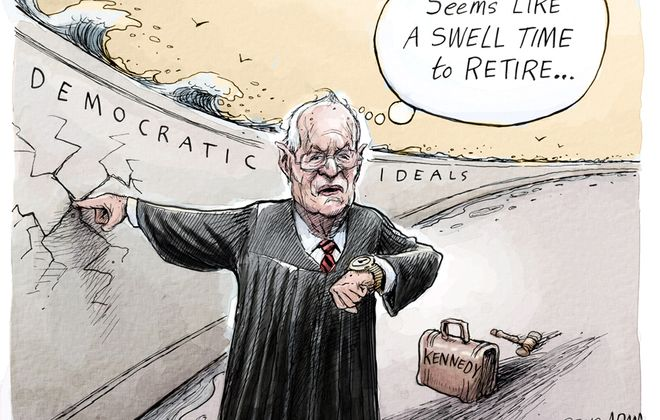Justice Kennedy: June 28, 2018
