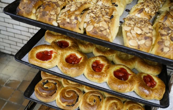 Pastries at Mazurek's Bakery, in the Old First Ward, will still be available, just with different bakers. (Derek Gee/News file photo)