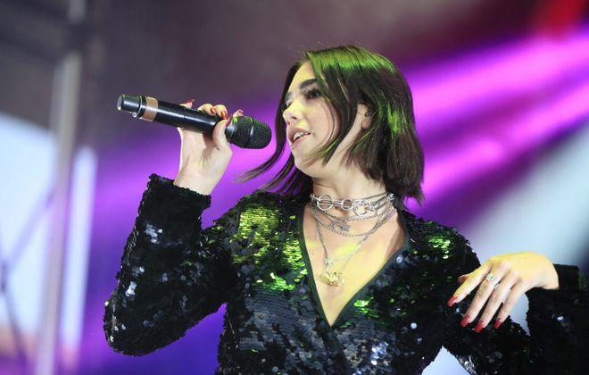 Dua Lipa's performance was a highlight at Kiss the Summer Hello. (Harry Scull Jr./ Buffalo News)