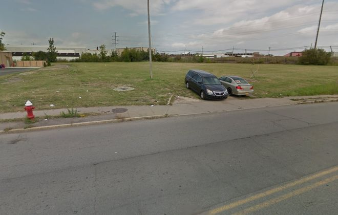 The vacant lot at 125-127 Skillen St. in Riverside was acquired by a Staten Island investor.