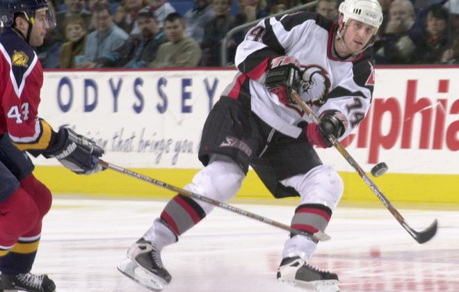 Former Buffalo Sabres defenseman Jay McKee has sold his house in Elma. (Derek Gee/News file photo)