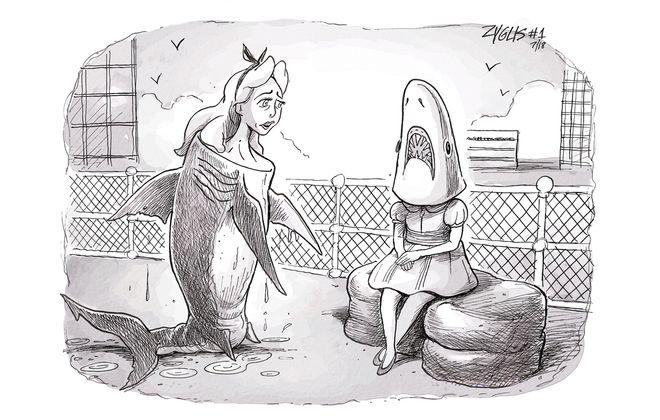 Adam Zyglis Cartoon Caption Contest: July 2018