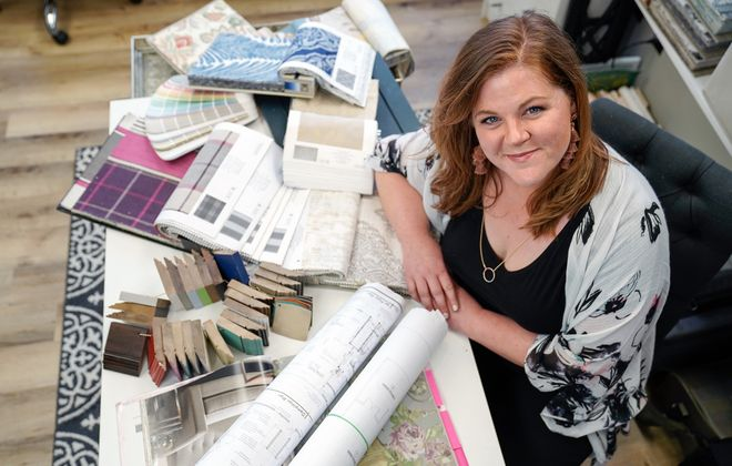 Interior designer Caroline Barr moved back home to Buffalo and created her own firm, Caroline Design.