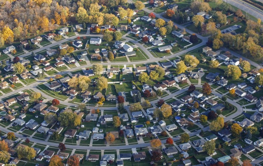 Median home sale prices are about 10 percent higher than a year ago.  (Derek Gee/News file photo)