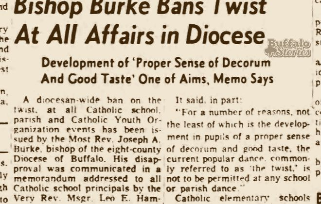 Buffalo in the '60s: Area Catholics banned from dancing the 'Twist'