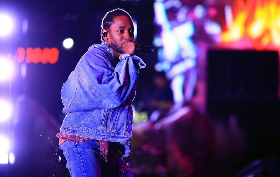 Just a few days after accepting his Pulitzer Prize, Kendrick Lamar performed at Darien Lake. Here, he's pictured at Coachella. (Christopher Polk/Getty Images for Coachella)