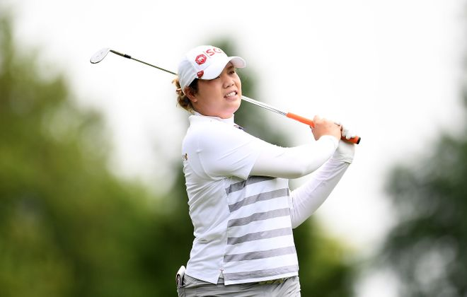 Ariya Jutanugarn of Thailand (Stacy Revere/Getty Images)