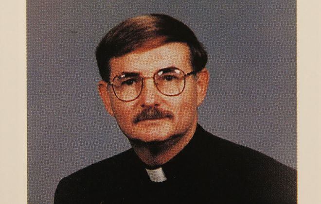 The Buffalo Diocese removed the Rev. Dennis Fronczak as pastor from Our Lady of Pompeii parish in Lancaster, N.Y. in October 2015 without saying why. (From the Buffalo Diocese's 1995 Priests' Pictorial Directory/ Sharon Cantillon/Buffalo News)