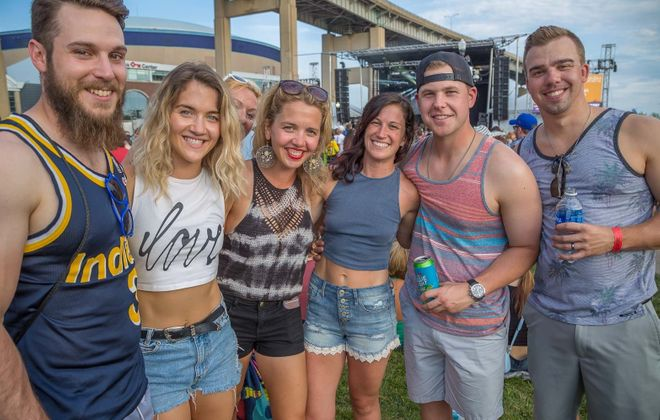 Smiling faces at Alternative Buffalo's Kerfuffle in 2017. The major festival returns on Saturday. (Don Nieman/Special to The News)