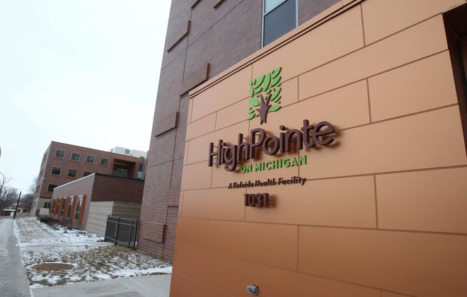 A resident at the HighPointe on Michigan nursing home in Buffalo suffered serious injuries when a cigarette he was smoking on June 28, 2018, set his clothes on fire. (Mark Mulville/News file photo)