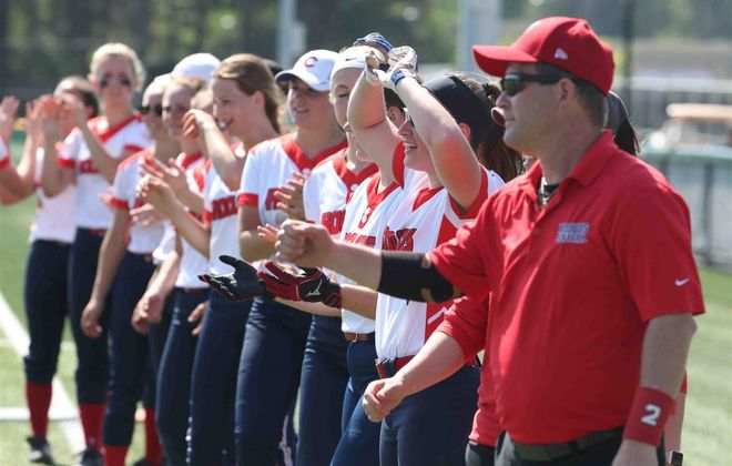 Iroquois softball has posted a video showing the team practicing in a time of social distancing (James P. McCoy/News file photo)
