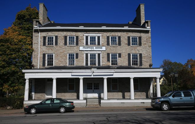 The historic Frontier House, a former hotel built in 1824 and vacant since 2004, has been sold for $800,000 to the Village of Lewiston. It was owned by Richard Hastings.  (John Hickey/News file photo)