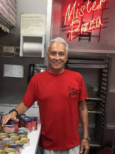 Anthony J. Colicchia, aka 'Mister Pizza,' who expressed his love through food