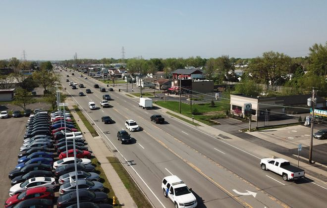 Six pedestrians have been killed in recent years along a 1.7-mile section of Niagara Falls Boulevard. (John Hickey/News file photo)