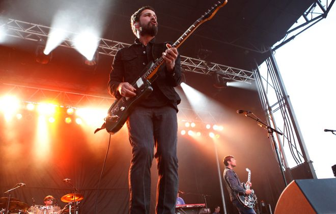The Sam Roberts Band is one of the main-stage headliners on the just-announced Borderland Music & Arts Festival.  (Sharon Cantillon/Buffalo News)