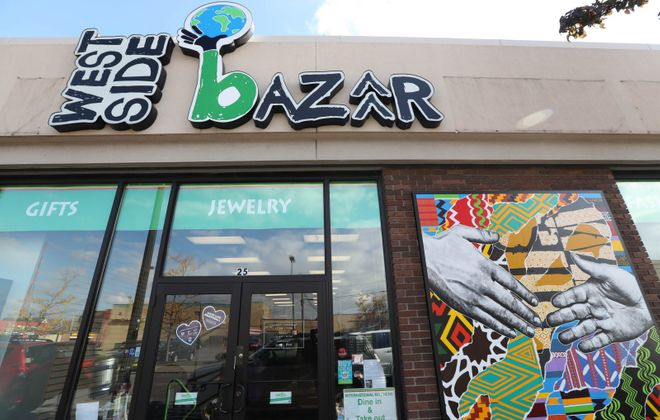 The West Side Bazaar is a popular destination on Grant Street on Buffalo's West Side. (Sharon Cantillon/News file photo)