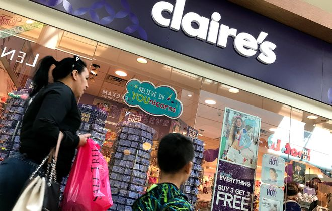 Claire's said it will close 132 stores this year. (Photo by Justin Sullivan/Getty Images)