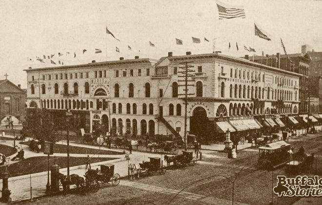 From 1880 to Today: The Arcade, then Buffalo's largest office building, in Lafayette Square