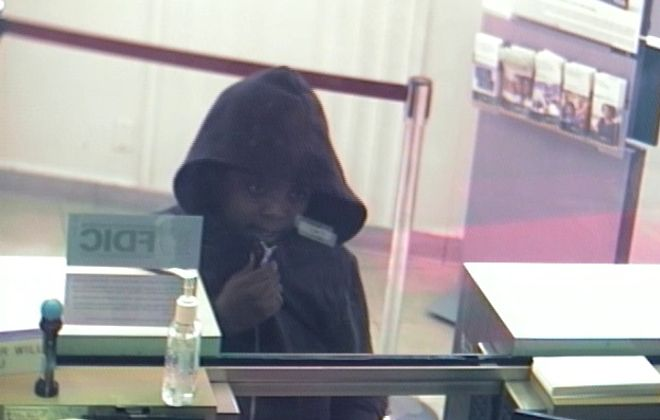 This suspect robbed an M&T Bank branch at 1877 Main St. on Wednesday morning, according to police. (Buffalo Police)