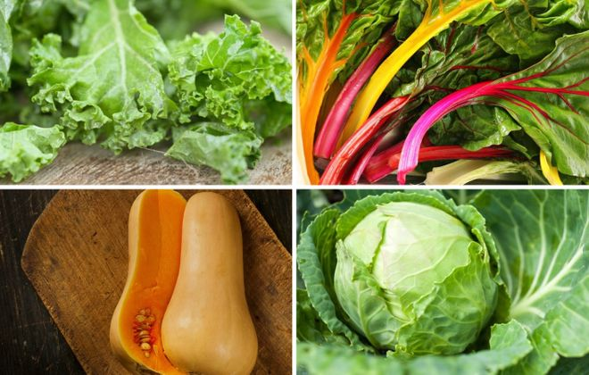 Sandra Tan has some thoughts on kale, swiss chard, butternut squash and cabbage after purchasing a farm share.
