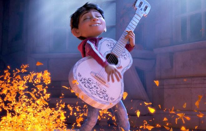 """The animated family musical """"Coco"""" will be shown at Canalside. (Disney-Pixar)"""