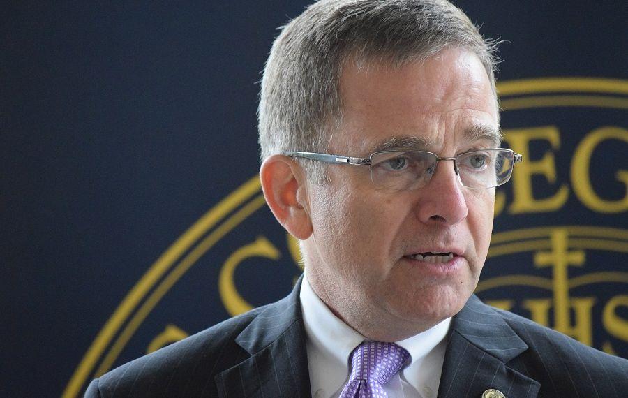 Canisius College President John Hurley  (Sam Ogozalek/News file photo)