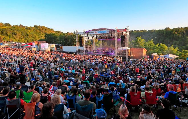 As bands, promoters and venues are forced to change their schedules, it looks like it will be at least until mid-to-late summer before we will be gathering again for outdoor concerts. (Harry Scull Jr./Buffalo News file photo)