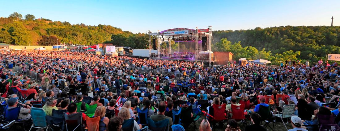 The view at the outdoor amphitheater at Artpark in Lewiston. (Harry Scull Jr./Buffalo News file photo)