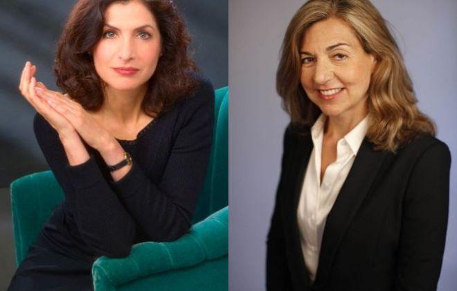 Lauren Belfer, left, and Margaret Sullivan will speak at the next Larkin Square Author Series.