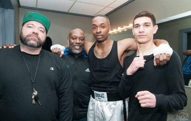 Don Patterson, second from the left, has been appointed to the New York State Athletic Commission. (Buffalo Golden Gloves)