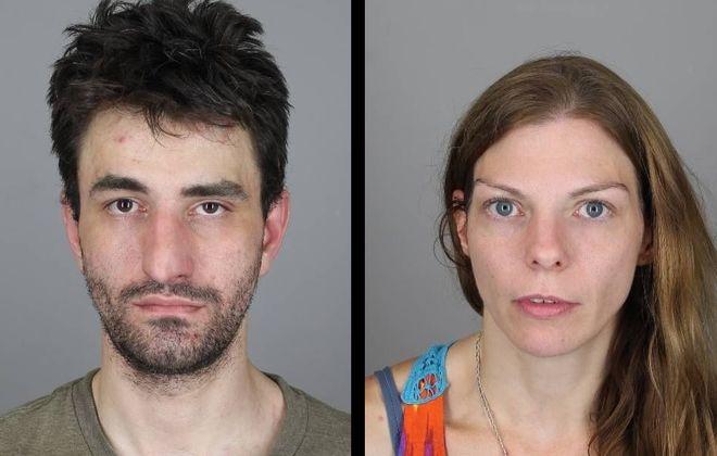 John T. Donovan, 33, and Rachel A. Brubaker, 35, were arrested early Wednesday morning. (City of Tonawanda Police)