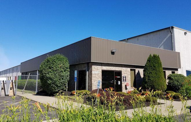 XPO Logistics, on IDA Park Drive in Lockport, where two employees were killed June 25, 2018. (Thomas J. Prohaska/Buffalo News)