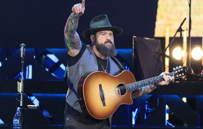 Zac Brown performing June 25, 2017, at Darien Lake Performing Arts Center. (Harry Scull Jr./News file photo)