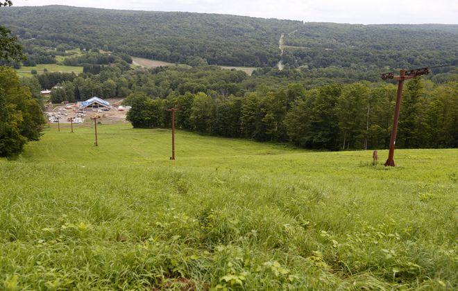 Cockaigne, shown in August, won't open for the 2018-19 ski season. (Mark Mulville/Buffalo News)
