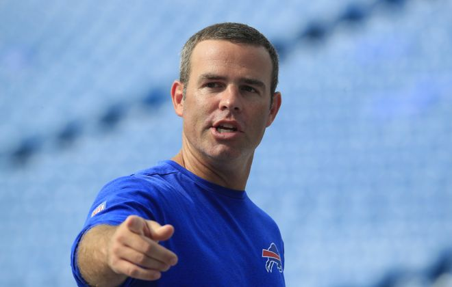 """Bills General Manager Brandon Beane said in a letter to season ticket holders: """"We have work to do and we know it."""" (Harry Scull Jr./News file photo)"""