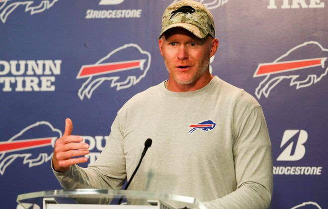 Bills head coach Sean McDermott. (News file photo)