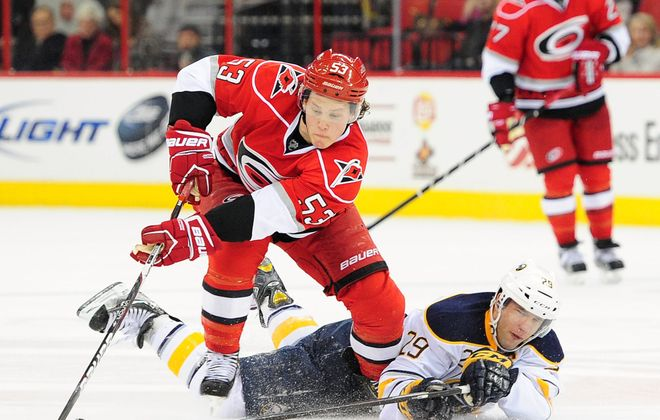 Jeff Skinner of the Carolina Hurricanes is joining the Buffalo Sabres. (Photo by Grant Halverson/Getty Images)