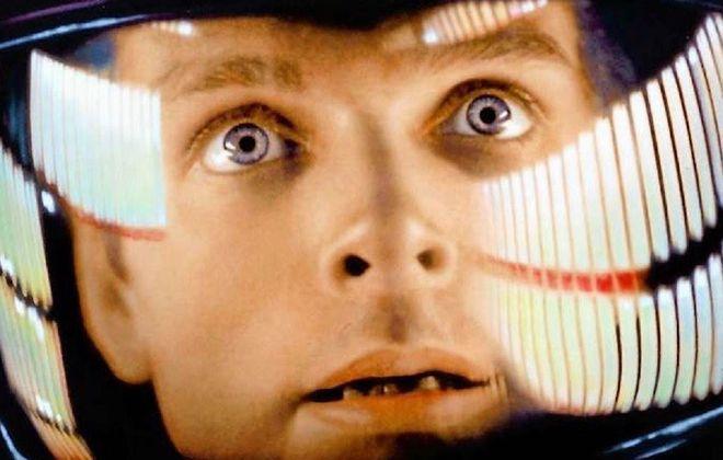 "Keir Dullea stars in Stanley Kubrick's ""2001: A Space Odyssey."""