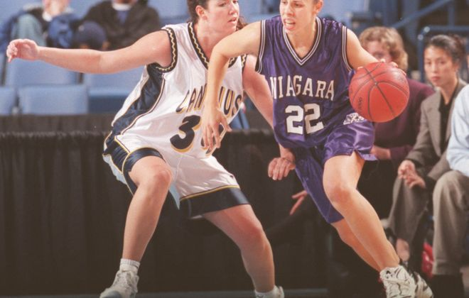 Niagara University basketball. (News file photo)