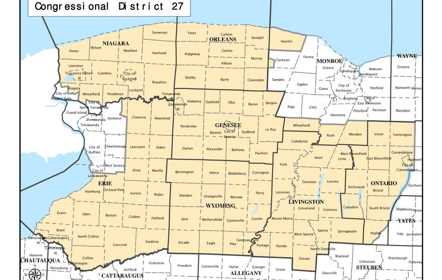 With the resignation of former Rep. Chris Collins, residents of the 27th Congressional District are unrepresented. Gov. Andrew M. Cuomo should schedule a special election as soon as possible, and definitely before the April presidential primary.